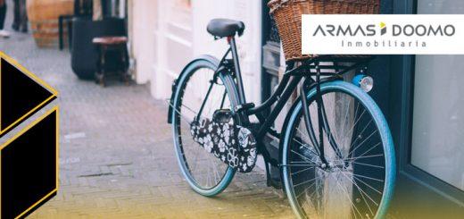 ir trabajo bicicleta desde departamento nuevo